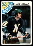1978 Topps #241  Roland Eriksson  Front Thumbnail