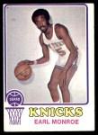 1973 Topps #142  Earl Monroe  Front Thumbnail