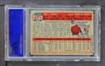 1957 Topps #277  Johnny Podres  Back Thumbnail