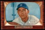 1955 Bowman #158  Gil Hodges  Front Thumbnail