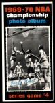 1970 Topps #171   -  Jerry West  1969-70 NBA Championship - Game 4 Front Thumbnail