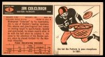 1965 Topps #6  Jim Colclough  Back Thumbnail