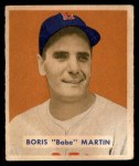 1949 Bowman #167  Boris Martin  Front Thumbnail