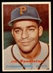 1957 Topps #327  Jim Pendleton  Front Thumbnail