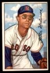 1952 Bowman #205  Walt Masterson  Front Thumbnail