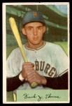 1954 Bowman #155  Frank Thomas  Front Thumbnail
