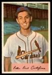 1954 Bowman #174 A Pete Castiglione  Front Thumbnail