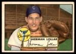 1952 Topps #117  Sherm Lollar  Front Thumbnail