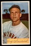 1954 Bowman #172  Andy Seminick  Front Thumbnail