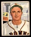 1950 Bowman #189 CPR Owen Friend  Front Thumbnail