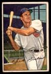 1952 Bowman #127  Dick Sisler  Front Thumbnail