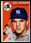 1954 Topps #239  Bill Skowron  Front Thumbnail