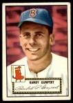 1952 Topps #247  Randy Gumpert  Front Thumbnail