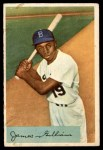 1954 Bowman #74  Jim Gilliam  Front Thumbnail
