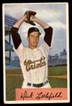 1954 Bowman #213  Dick Littlefield  Front Thumbnail