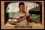 1955 Bowman #40  Vic Wertz  Front Thumbnail