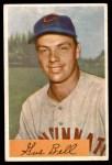 1954 Bowman #124 COR Gus Bell  Front Thumbnail