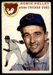 1954 Topps #89  Howie Pollet  Front Thumbnail