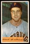 1954 Bowman #43 COR Bob Friend  Front Thumbnail