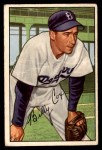 1952 Bowman #152  Billy Cox  Front Thumbnail