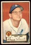 1952 Topps #39 RED Dizzy Trout  Front Thumbnail