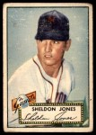 1952 Topps #130  Sheldon Jones  Front Thumbnail