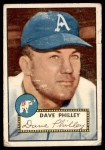 1952 Topps #226  Dave Philley  Front Thumbnail