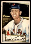 1952 Topps #30 RED Mel Parnell  Front Thumbnail