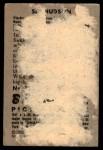 1952 Bowman #123  Sid Hudson  Back Thumbnail