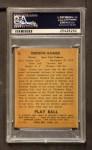 1940 Play Ball #6  Lefty Gomez  Back Thumbnail