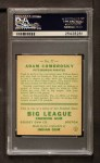 1933 Goudey #77  Adam Comorosky  Back Thumbnail