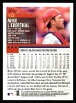 2000 Topps #10  Mike Lieberthal  Back Thumbnail