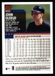 2000 Topps #80  John Olerud  Back Thumbnail