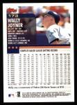 2000 Topps #173  Wally Joyner  Back Thumbnail