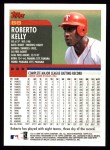 2000 Topps #88  Roberto Kelly  Back Thumbnail