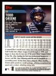 2000 Topps #9  Todd Greene  Back Thumbnail