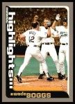 2000 Topps #458   -  Wade Boggs Season Highlights Front Thumbnail