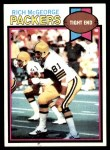 1979 Topps #243  Rich McGeorge  Front Thumbnail