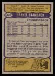 1979 Topps #237  Haskel Stanback  Back Thumbnail