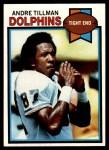 1979 Topps #342  Andre Tillman  Front Thumbnail