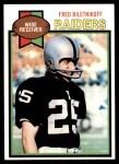 1979 Topps #305  Fred Biletnikoff  Front Thumbnail