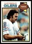 1979 Topps #524  Cliff Parsley  Front Thumbnail