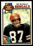 1979 Topps #74  Pat McInally  Front Thumbnail
