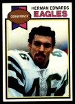 1979 Topps #212  Herman Edwards  Front Thumbnail
