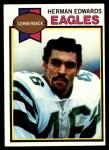1979 Topps #212  Herman Edwards  Front Thumbnail