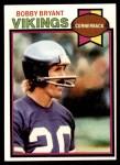 1979 Topps #58  Bobby Bryant  Front Thumbnail