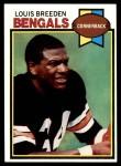 1979 Topps #474  Louis Breeden  Front Thumbnail