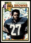 1979 Topps #204   -  Thom Darden All-Pro Front Thumbnail