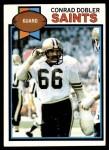 1979 Topps #103  Conrad Dobler  Front Thumbnail