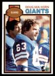 1979 Topps #269  Doug Van Horn  Front Thumbnail